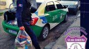 GM Delmiro Gouveia: Patrulha Mª Penha Selma Bandeira distribui cestas básicas á assistidas