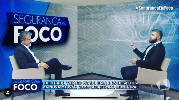 Titular da Semscs, Thiago Prado, fala sobre desafios e novos rumos à GMM