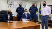 GCM do Pilar: Prefeito assina Acordo de Cooperação Técnica para concessão de porte de arma de fogo