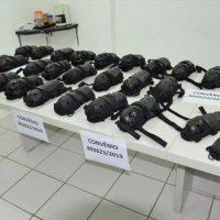 Guardas Muncipais de Maceió são contemplados com 25 kits de equipamentos de CDC