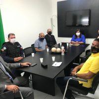 Sindguarda se reúne com prefeita de Delmiro Gouveia e apresenta pautas da GM