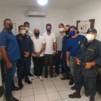 Sindguarda se reúne com prefeito de Pariconha para debater pautas da GM