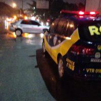 ROMU II dá apoio em acidente envolvendo guarda municipal em Maceió
