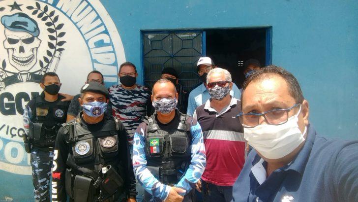 Sindguarda realiza reunião com guardas municipais de Viçosa