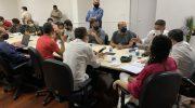 Sindguarda participa de reunião com Comissão de Administração da Câmara de Vereadores