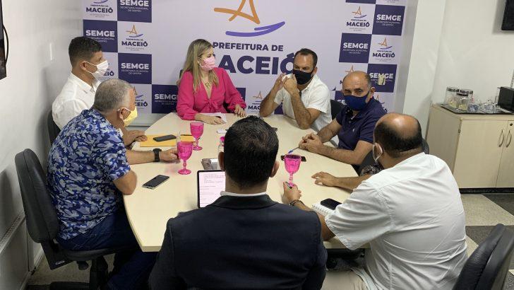 Negociação: Comissão do Movimento Unificado se reúne com representantes da Prefeitura de Maceió