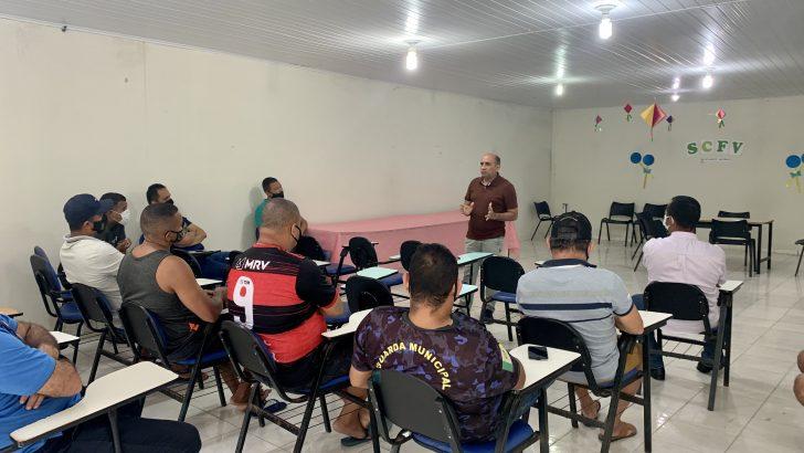 Sindguarda faz assembleia com GMs da Barra de Santo Antônio para tratar da implantação do PCC