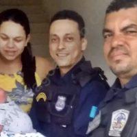 Guarda Municipal salva bebê de 15 dias engasgado com leite materno em São Miguel dos Campos