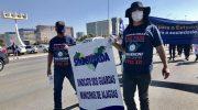 Sindguarda participa de protesto em Brasília contra a PEC 32/2020