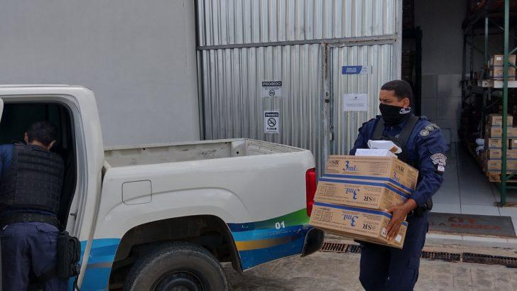 Guarda Municipal de Traipu garante escolta das vacinas contra a covid-19