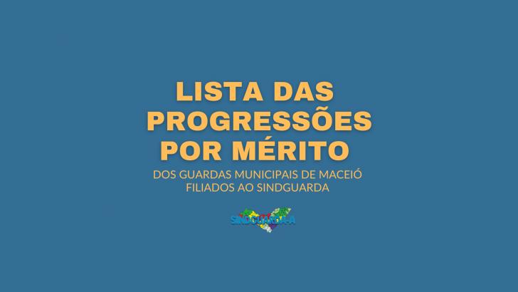 Sindguarda divulga lista de filiados de Maceió que receberão progressões; confira