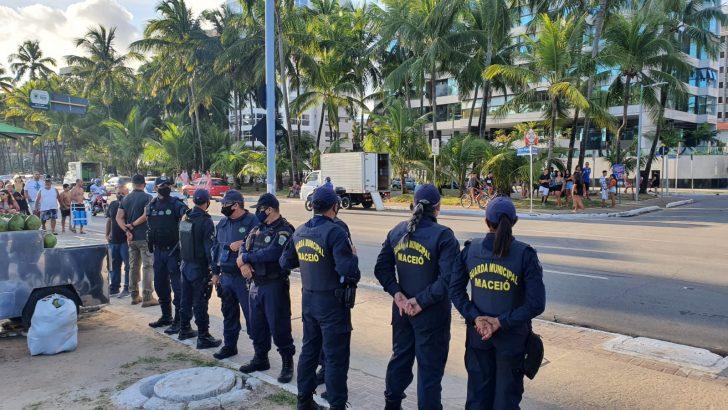 Guarda Municipal apreende 90 comprimidos de Rohypnol com adolescente na Ponta Verde
