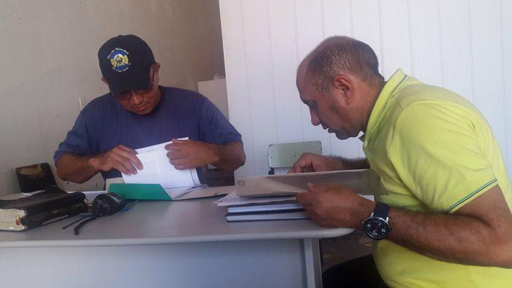 Presidente do SINDGUARDA – AL Carlos Pisca visita cidade de Olho d´Água do Casado no sertão de Alagoas