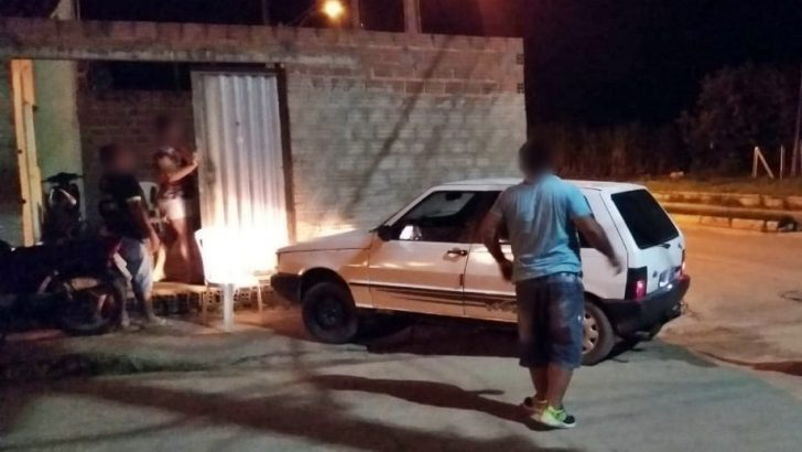 Guarda Civil Municipal registra colisão na AL 420 entre carro e motocicleta