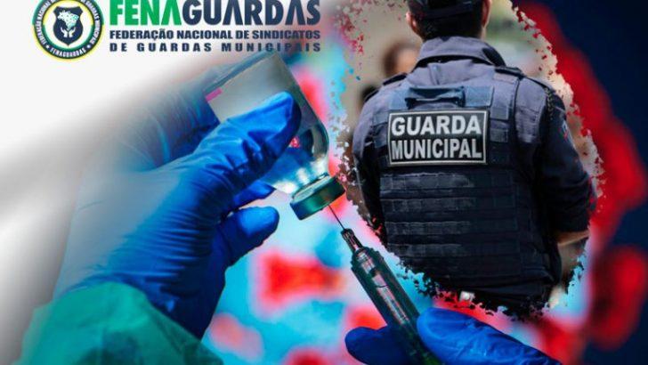 Guardas Municipais são inclusos no grupo prioritário da vacinação contra Covid-19