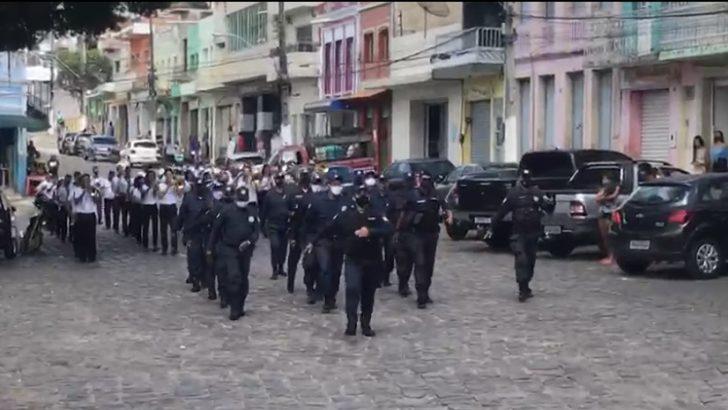 Guarda Municipal é destaque na comemoração da emancipação política de Água Branca