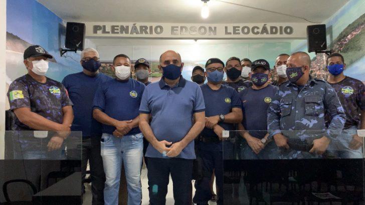 Sindguarda se reúne com vereadores para discutir pautas da Guarda Municipal da Barra de Santo Antônio