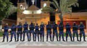 Prefeita de Atalaia veste farda da Guarda Municipal e faz ronda noturna