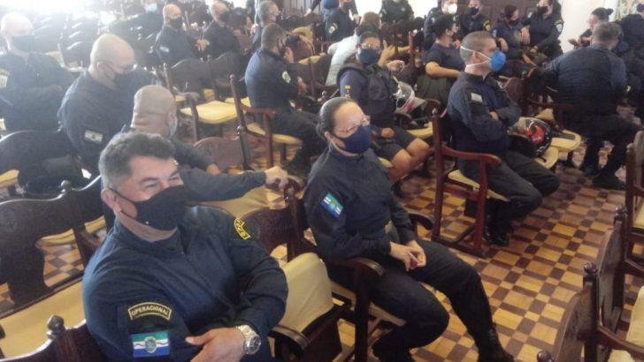 Guarda Municipal recebe treinamento para combater violência contra a mulher
