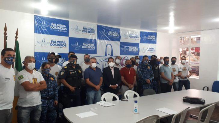 Sindguarda apresenta reivindicações da categoria à Prefeitura de Palmeira dos Índios