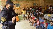 Segunda edição do Domingo com a Guarda alegra crianças do Benedito Bentes