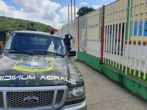 Guarda Municipal inicia operação Volta às Aulas em Joaquim Gomes e intensifica ações educativas