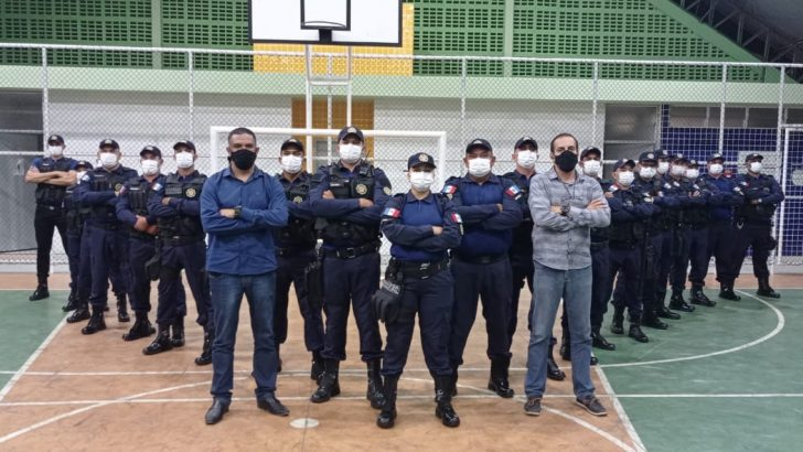 Sindguarda participa do encerramento do curso de capacitação da GM de Carneiros