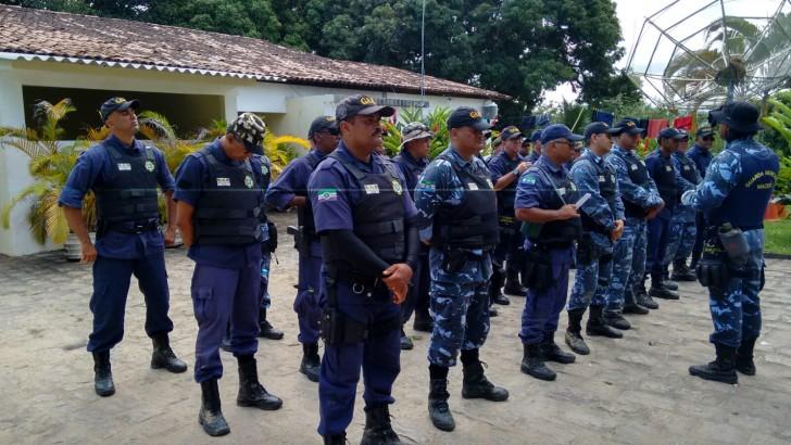 Treinamento de nivelamento com os Guardas Municipais de Maceió e de outros municípios